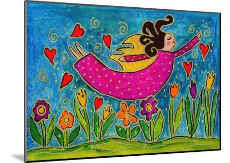Big Diva Sprinkling Garden with Love-Wyanne-Mounted Giclee Print