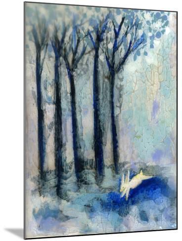 White Rabbit-Wyanne-Mounted Giclee Print