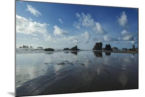 Seascape with Rocks at Bandon Beach in Bandon, Oregon-Macduff Everton-Mounted Photographic Print