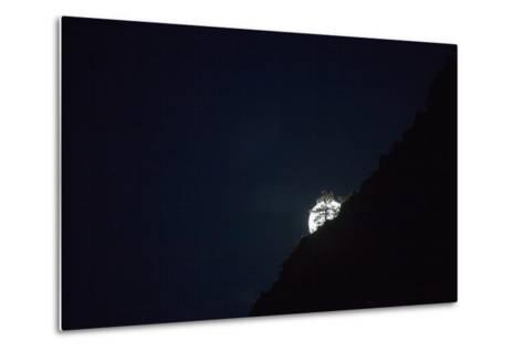 The Full Moon Rising in Zion National Park-Ben Horton-Metal Print
