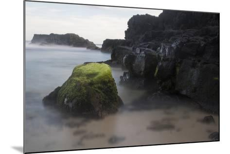 Mossy Rocks in the Surf-Gabby Salazar-Mounted Photographic Print