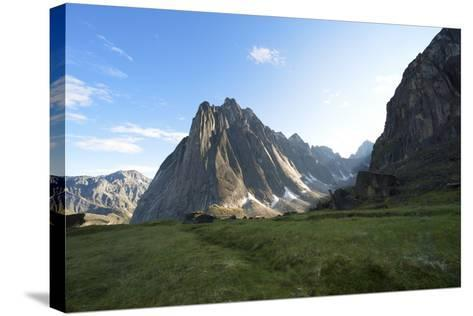 Mount Harrison Smith in the Cirque of the Unclimbables-Chad Copeland-Stretched Canvas Print