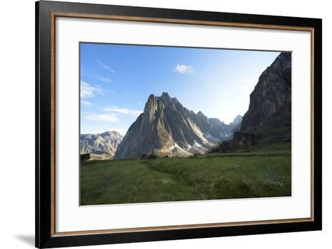 Mount Harrison Smith in the Cirque of the Unclimbables-Chad Copeland-Framed Art Print