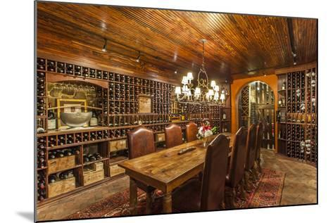 The Wine Cellar in the Antrim 1844, a Restored Plantation House in Maryland-Richard Nowitz-Mounted Photographic Print