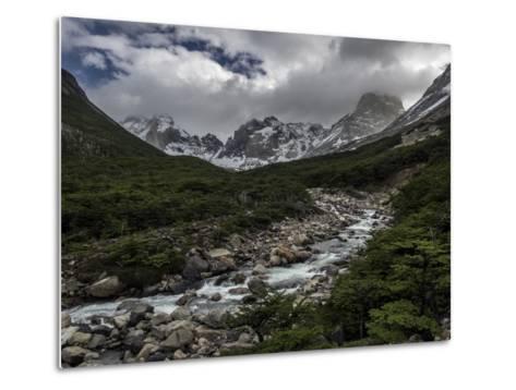 Rio Del Frances in Torres Del Paine National Park-Jay Dickman-Metal Print