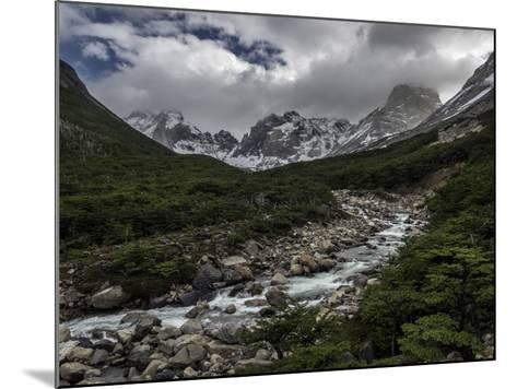 Rio Del Frances in Torres Del Paine National Park-Jay Dickman-Mounted Photographic Print
