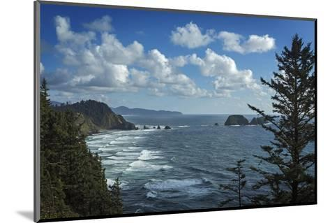 View of Pacific Ocean from Cape Meares State Park-Macduff Everton-Mounted Photographic Print