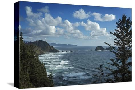 View of Pacific Ocean from Cape Meares State Park-Macduff Everton-Stretched Canvas Print