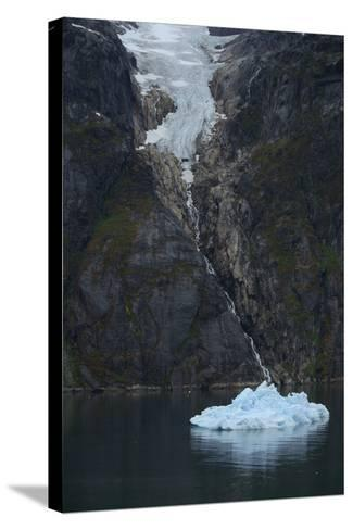 Glacier in Prince Christian Sound-Raul Touzon-Stretched Canvas Print
