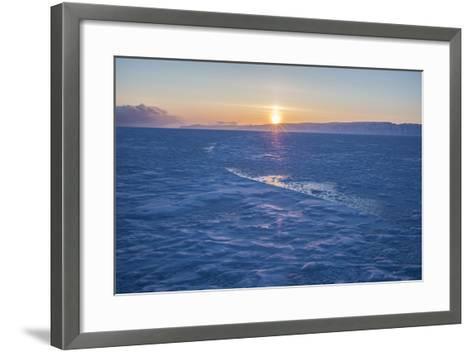The Sea Ice in Western Greenland-Cristina Mittermeier-Framed Art Print