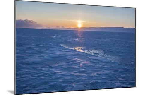 The Sea Ice in Western Greenland-Cristina Mittermeier-Mounted Photographic Print