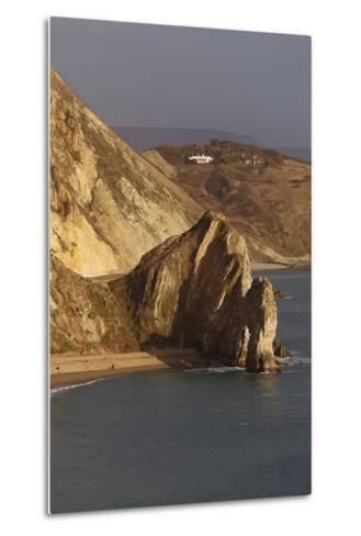 Durdle Door, a Rock Arch on the Jurassic Coast World Heritage Site, Near Lulworth Cove-Nigel Hicks-Metal Print