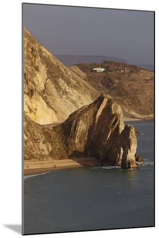 Durdle Door, a Rock Arch on the Jurassic Coast World Heritage Site, Near Lulworth Cove-Nigel Hicks-Mounted Photographic Print