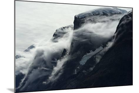Glaciers Covered with Clouds on Skjoldungen Island-Raul Touzon-Mounted Photographic Print