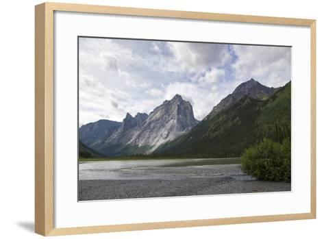 The Cirque of the Unclimbables from Glacier Lake-Chad Copeland-Framed Art Print
