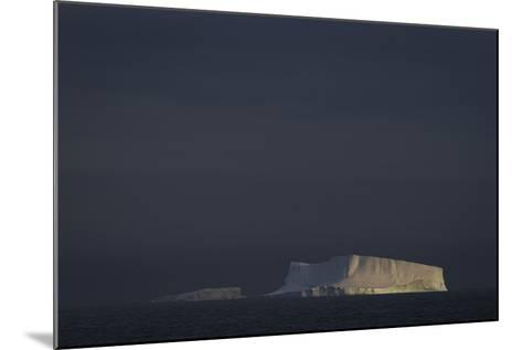 An Iceberg Illuminated by Early Morning Light Near the Antarctica Peninsula-David Griffin-Mounted Photographic Print