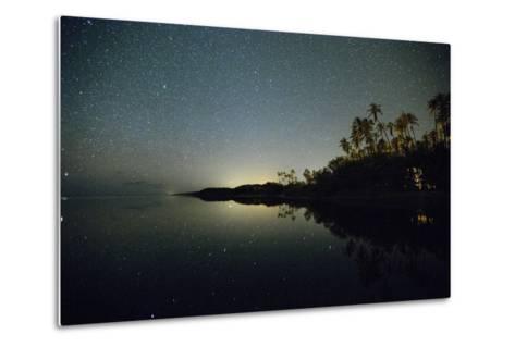 Starry Night in the Kapuaiwa Coconut Grove-Jonathan Kingston-Metal Print