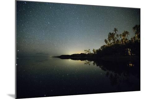 Starry Night in the Kapuaiwa Coconut Grove-Jonathan Kingston-Mounted Photographic Print