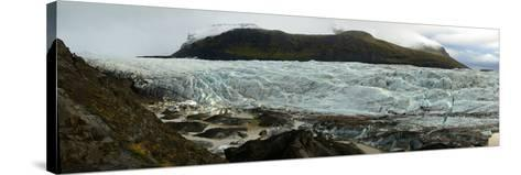 Glaciers in Vatnajokull National Park on the South Coast of Iceland-Raul Touzon-Stretched Canvas Print