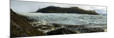 Glaciers in Vatnajokull National Park on the South Coast of Iceland-Raul Touzon-Mounted Photographic Print