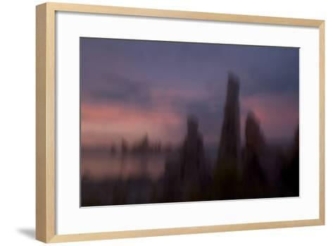 Tufa Towers in the South Tufa Area of the Mono Basin National Forest-Philip Schermeister-Framed Art Print