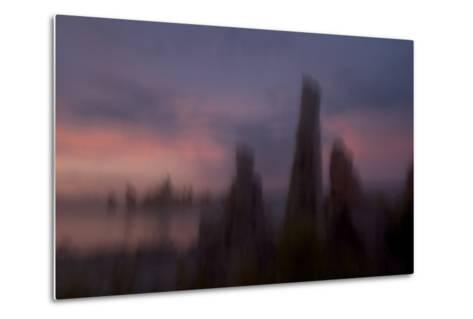 Tufa Towers in the South Tufa Area of the Mono Basin National Forest-Philip Schermeister-Metal Print