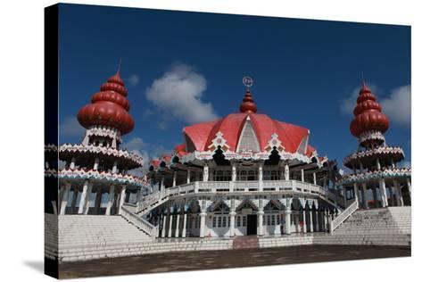 Hindu Temple at Paramaribo-Tyrone Turner-Stretched Canvas Print