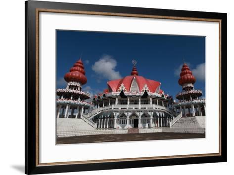 Hindu Temple at Paramaribo-Tyrone Turner-Framed Art Print