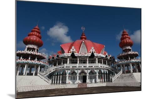 Hindu Temple at Paramaribo-Tyrone Turner-Mounted Photographic Print