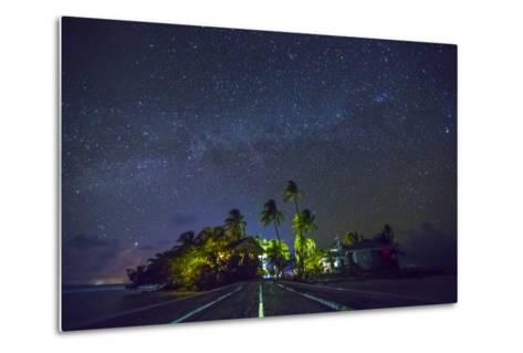 Carrie Bow Caye and its Remote Island Field Station Managed by the Smithsonian Instituion-Clare Fieseler-Metal Print