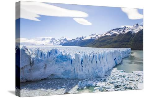 View of the Massive Perito Moreno Glacier in Los Glaciares National Park-Mike Theiss-Stretched Canvas Print