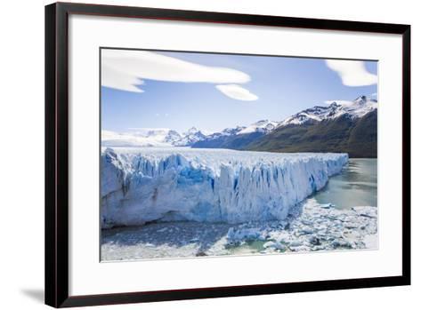 View of the Massive Perito Moreno Glacier in Los Glaciares National Park-Mike Theiss-Framed Art Print