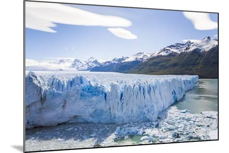 View of the Massive Perito Moreno Glacier in Los Glaciares National Park-Mike Theiss-Mounted Photographic Print