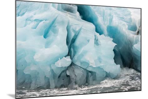 Blue Icebergs in Antarctica-Tom Murphy-Mounted Photographic Print