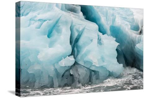 Blue Icebergs in Antarctica-Tom Murphy-Stretched Canvas Print