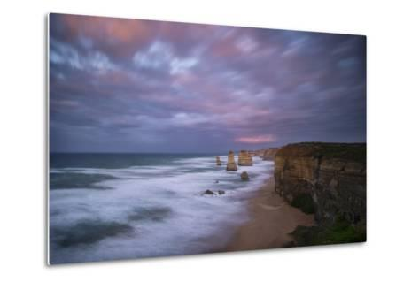 Dramatic Sky Above the Twelve Apostles-Chad Copeland-Metal Print