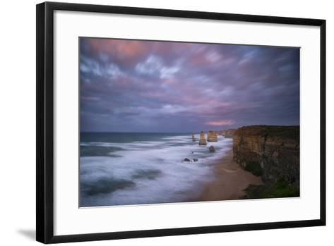 Dramatic Sky Above the Twelve Apostles-Chad Copeland-Framed Art Print