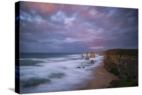 Dramatic Sky Above the Twelve Apostles-Chad Copeland-Stretched Canvas Print