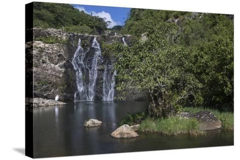 Tamarin Falls or Seven Falls-Gabby Salazar-Stretched Canvas Print