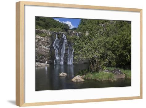 Tamarin Falls or Seven Falls-Gabby Salazar-Framed Art Print
