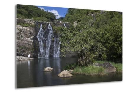 Tamarin Falls or Seven Falls-Gabby Salazar-Metal Print