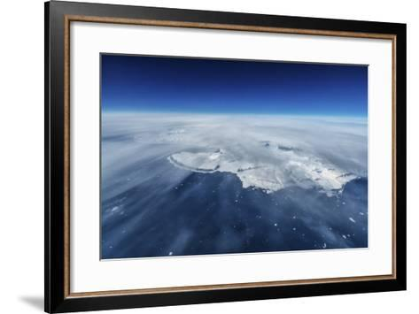 South Shores of Greenland from the Air-Chad Copeland-Framed Art Print