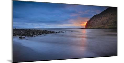 Panoramic of Halawa Beach on Molokai's East End-Richard A^ Cooke-Mounted Photographic Print