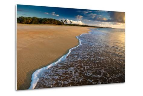 Sunset Above Papohaku Beach on Molokai's West End-Richard A^ Cooke-Metal Print