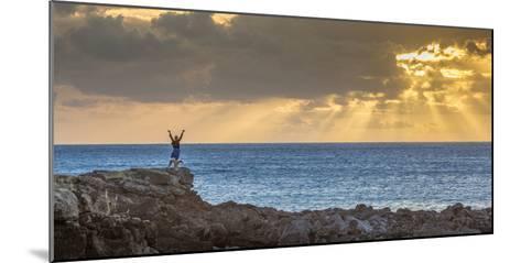 Sunset at Kawakiu Nui on Molokai's West End-Richard A^ Cooke-Mounted Photographic Print