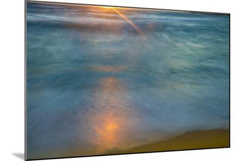 Sunrise Above Kawa'Aloa Bay on Molokai's North Shore-Richard A^ Cooke-Mounted Photographic Print