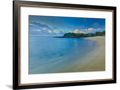 Kaupoa Bay Shoreline on Molokai's West End-Richard A^ Cooke-Framed Art Print