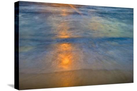 Sunrise Above Kawa'Aloa Bay on Molokai's North Shore-Richard A^ Cooke-Stretched Canvas Print