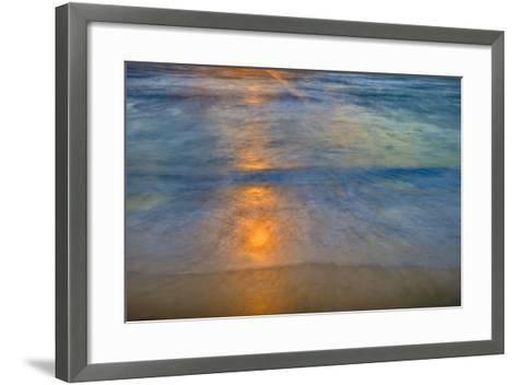 Sunrise Above Kawa'Aloa Bay on Molokai's North Shore-Richard A^ Cooke-Framed Art Print