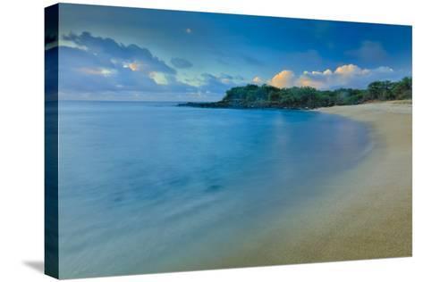 Kaupoa Bay Shoreline on Molokai's West End-Richard A^ Cooke-Stretched Canvas Print